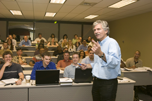Phil Rogers teaches students how to make effective decisions in business