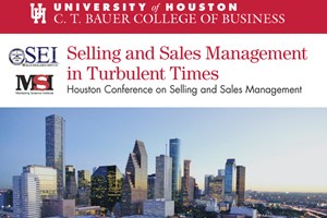 Houston Conference on Selling and Sales Management.