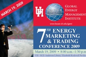 The 7th annual UH GEMI conference will focus on how the financial crisis is impacting energy trading.