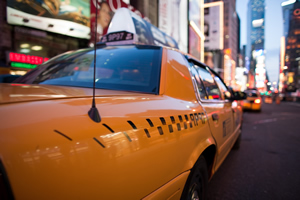 Taxicab drivers must jockey for passengers while running a business on four wheels.