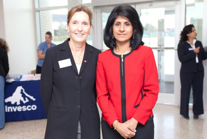 Janice Cellier and Latha Ramchand
