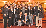 Warren Buffett with Bauer WCE Students