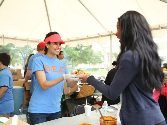 Students from the Wolff Center for Entrepreneurship took over Butler Plaza for three days during the annual Wolffest competition April 16-18.