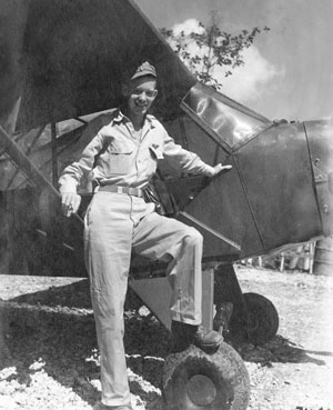WW II hero Eugene Mincks flew combat missions in the Pacific Theatre. He later rose to the rank of Brigadier General in the U.S. Army.