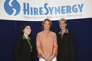 Birgit Kamps' company, Hire Synergy, is one of Houston's most admired.