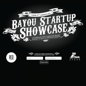 The Bayou Startup Showcase is a partnership between two local business colleges' startup accelerators.