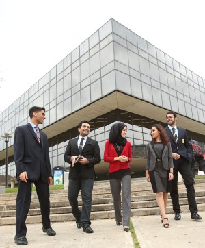 The C. T. Bauer College of Business at the University of Houston consistently makes the top business college list published by U.S. News & World Report.