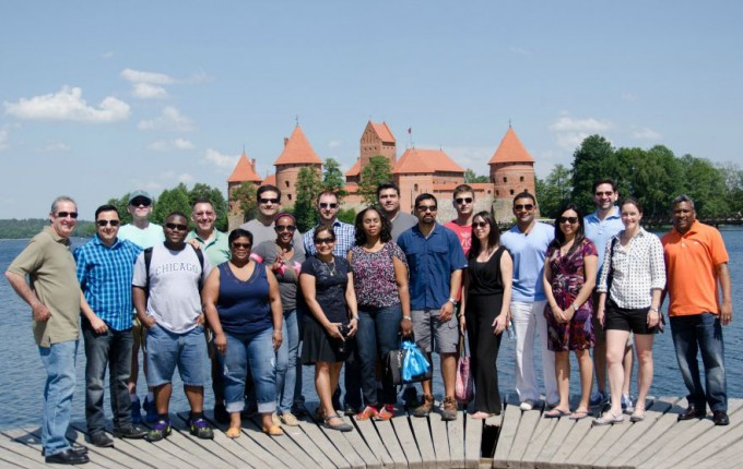 Executive MBA students at the C. T. Bauer College of Business at the University of Houston brought their business acumen and potential solutions to Lithuanian energy leaders as part of the International Business Residency (IBR) program over the summer.