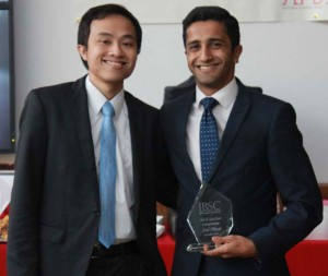 Undergraduates Loc Dan and Adil Rajabali win second place at the annual Investment Banking Scholars Club (IBSC) Oil and Gas Valuation Case Competition.