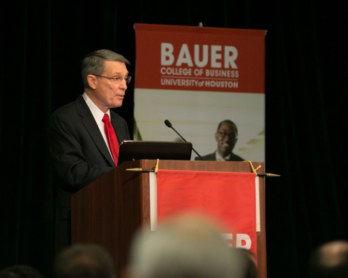 Robert W. (Bill) Gilmer is the director of the Institute for Regional Forecasting at the C. T. Bauer College of Business.