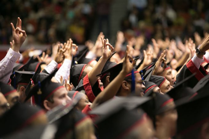 On May 13, the C. T. Bauer College of Business will celebrate more than 900 graduates during a convocation ceremony at 7 p.m. in Hofheinz Pavilion.