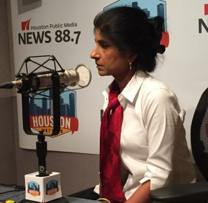 Bauer College Dean Latha Ramchand talks about working families and Practices That Pay event on July 26.