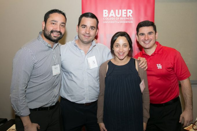 Bauer College alumni came together on campus recently for the Bauer College Alumni Association Annual Meeting.