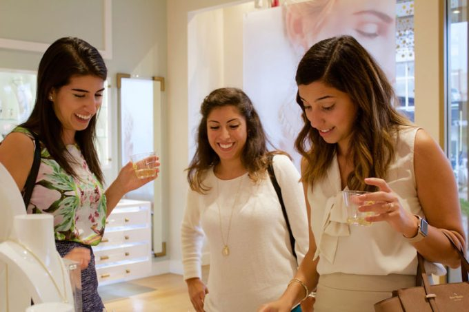 The Bauer College Alumni Association (BCAA) held a fundraising event at the Kendra Scott store located in Rice Village, where 20 percent of all purchases that evening went towards BCAA.